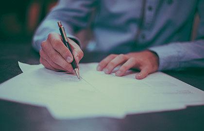 Оценка благонадежности по почерку