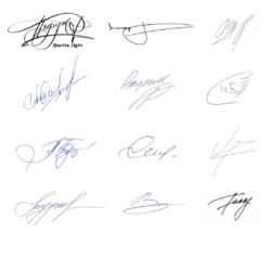 Взгляд графолога на разработку красивой подписи