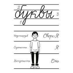 Символический смысл трех зон буквы